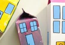 Φτιάξτε μια πόλη από χάρτινα κουτιά