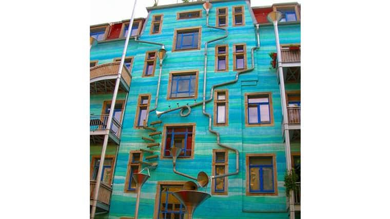 funnel wall ένας τοίχος που παίζει μουσική