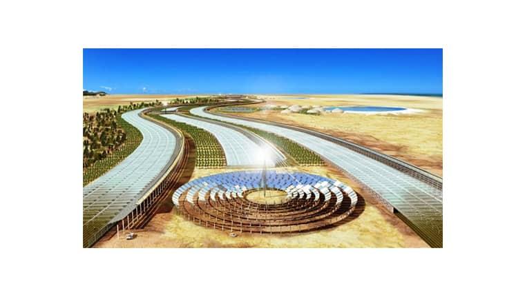 Sahara Forest Project | Θερμοκήπιο στη Σαχάρα με θαλασσινό νερό