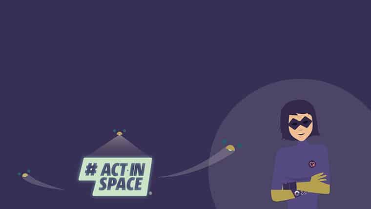 Το ActInSpace ήρθε στην Ελλάδα | διαγωνισμός για τη διαστημική τεχνολογία