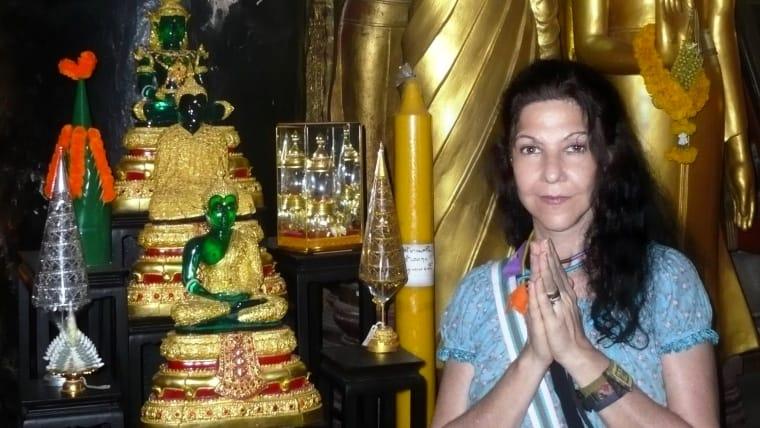 H Λήδα Shantala σε ένα από τα ταξίδια πνευματικής αναζήτησης
