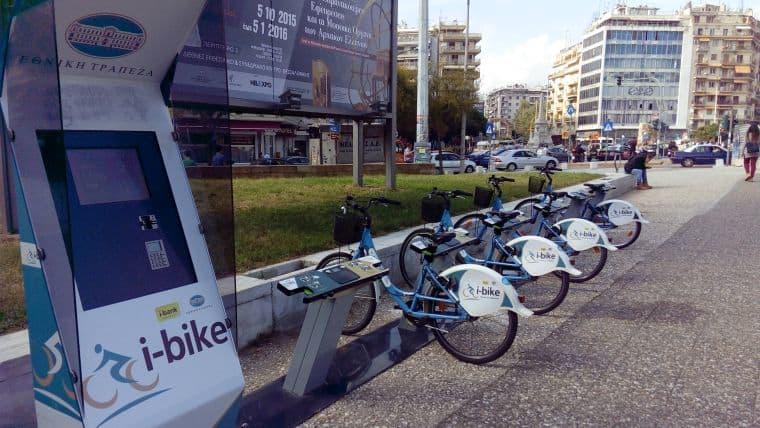 Νέο σύστημα κοινόχρηστων ποδηλάτων i-bike στη Γλυφάδα