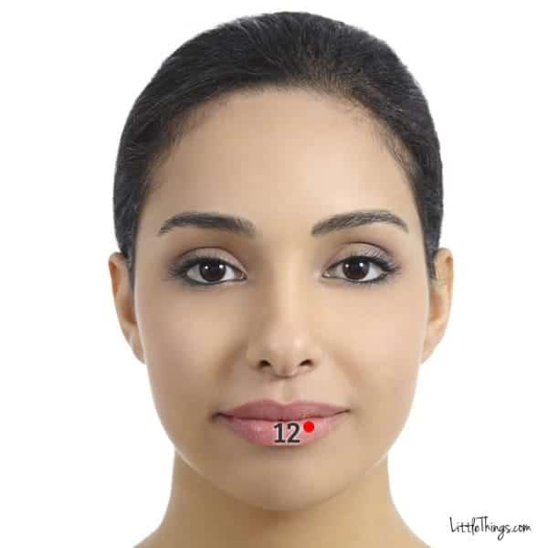 Ρυτίδες χείλη