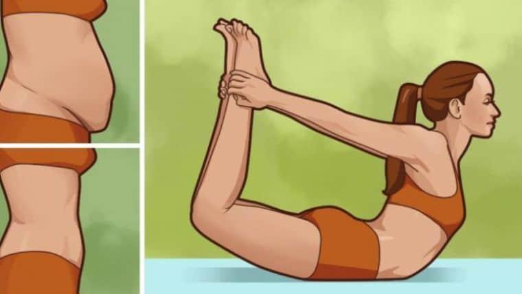 10 Στάσεις της Γιόγκα για να Διώξετε γρήγορα το περιττό Λίπος από την Κοιλιά σας!