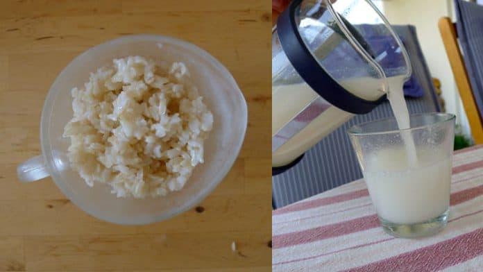 Γάλα απο ρύζι