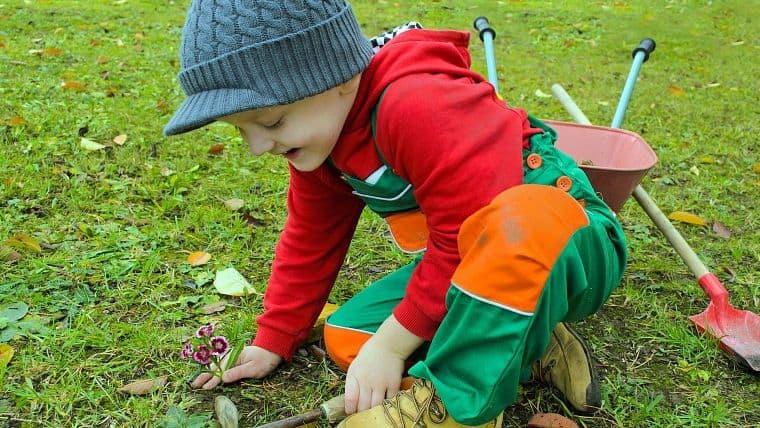 Τα οφέλη της κηπουρικής για τα παιδιά