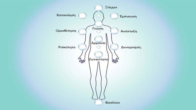 Το Ελληνικό Δέντρο της Ζωής και τα 11 Ενεργειακά Κέντρα του ανθρώπου