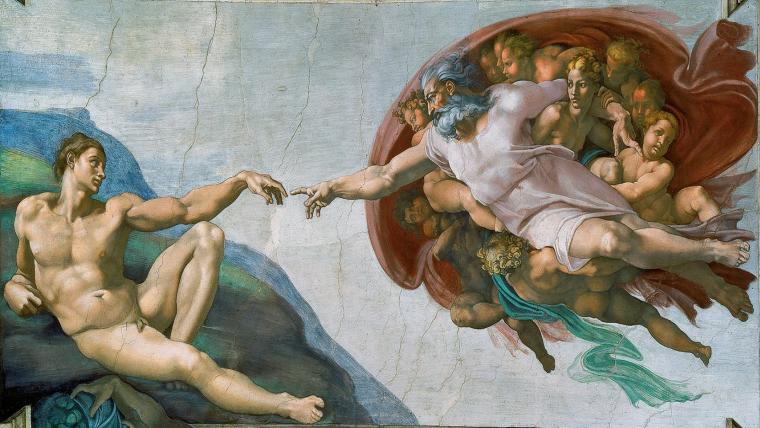 Η Δημιουργία του Ανθρώπου ή του Θεού; | Ο αινιγματικός Μικελάντζελο - της Γεωργίας Νερούτσου