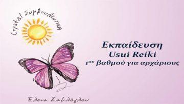 Σεμινάριο - Συντονισμός Reiki (Ρέικι) 1ου βαθμού | Έλενα Σαμλόγλου