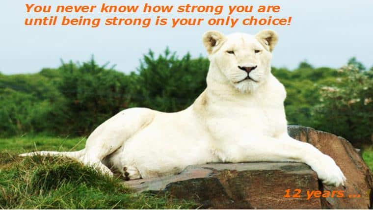 Ποτέ δεν ξέρεις πόσο δυνατός είσαι, μέχρι να έρθει κάποια στιγμή που η δύναμη θα είναι η μόνη επιλογή που θα έχεις! - της Μαρίας Μπούσμπουλα