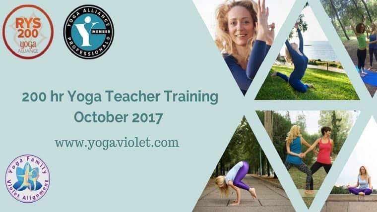 Εκπαίδευση Δασκάλων Yoga 200 ωρών | Φωτεινή Δημητρίου