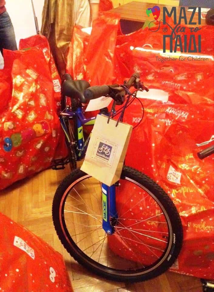 Μαζί για το Παιδί | Μοιράζοντας ευτυχία και δώρα σε 500 παιδιά σε ανάγκη