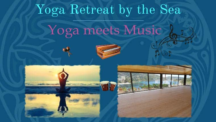Yoga meets Music - Yoga Retreat by the Sea