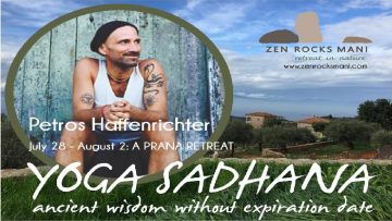 A Prana Retreat with Petros Haffenrichter | Zen Rocks Mani