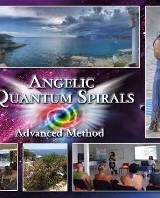 Angelic Quantum Spirals – Advanced Method by Mary Zapiti – Θαύματα με Αγγελικές Σπείρες – 9o Summer Camp 2018 | Μαίρη Ζαπίτη