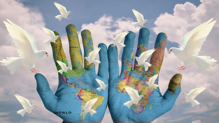 Παγκόσμια πρωτοβουλία | 1 εκατομμύριο πράξεις ειρήνης σε 10 μέρες!