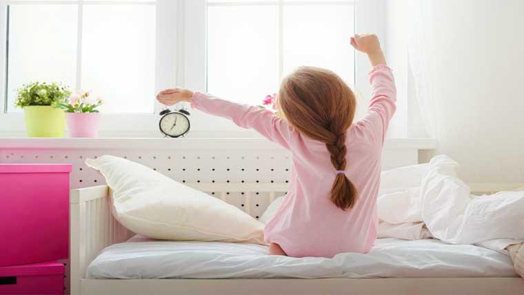 πρωινό ξύπνημα για το σχολείο