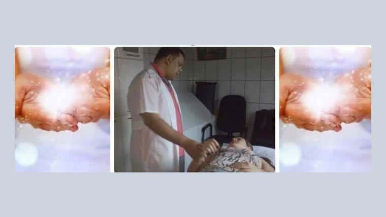 Ο Βραζιλιάνος θεραπευτής Edmar Luciano στην Αθήνα