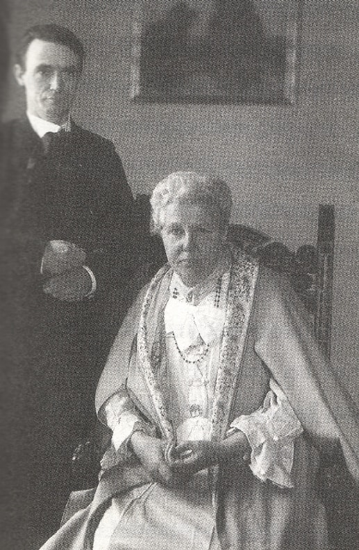O Rudolf Steiner μαζί με την Annie Besant, Photo by commons.wikimedia.org
