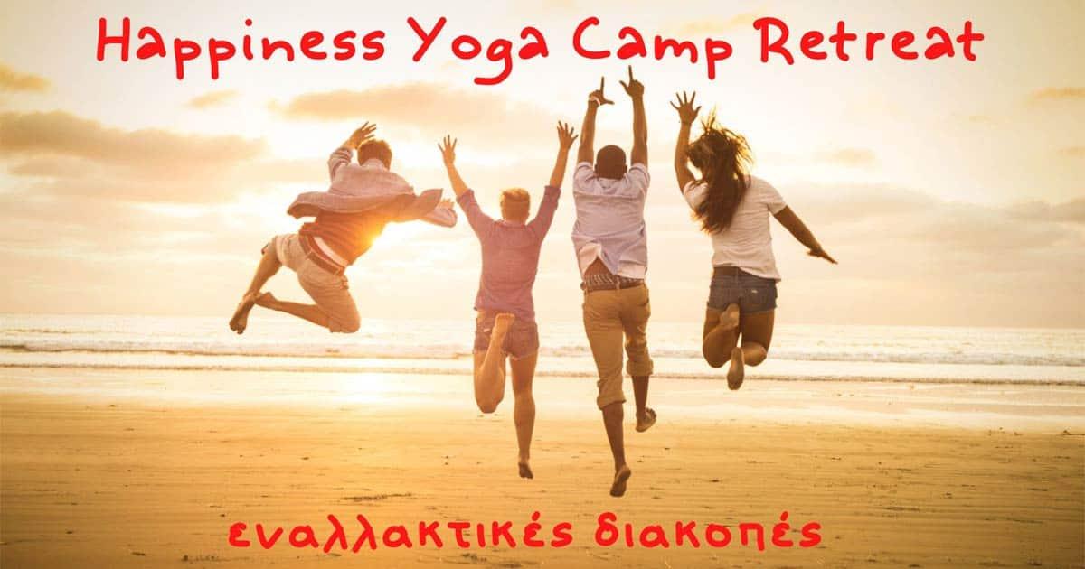 Happiness Yoga Camp Retreat | Live Happy Life