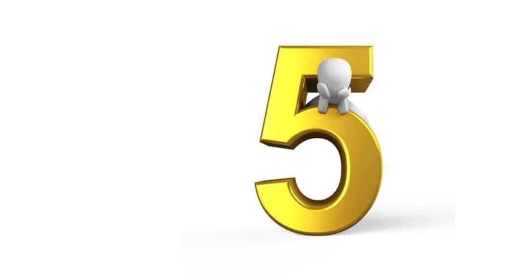 Ο αριθμός Πέντε (5)